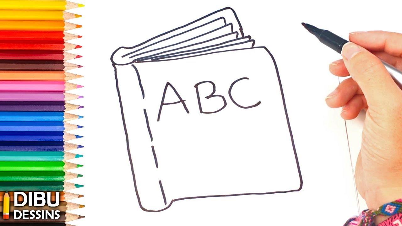 Comment Dessiner Un Livre Etape Par Etape Youtube