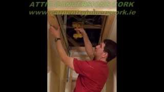 Attic Conversions Cork | Jonathan Evans Carpentry Joinery | Tel: 086-2604787
