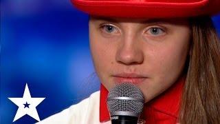 Битбокс от Ольги - Україна має талант-6 - Кастинг в Донецке(Ольга Пьянова исполняет битбокс на кастинге