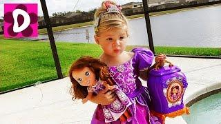 Что в Шкафу у Принцессы? Принцесса София Прекрасная Игры для Девочек Видео для Детей Sofia the first