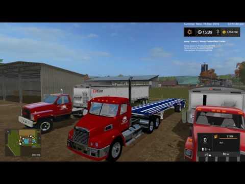 FS 17 Farming Simulator Farming on Southern American Farming Map!!