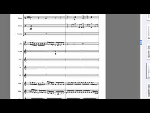 how to write percussion music