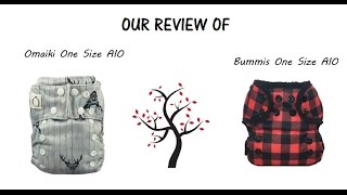 Review of Omaiki & Bummis AIO Diapers + Enter our Giveaway Here!