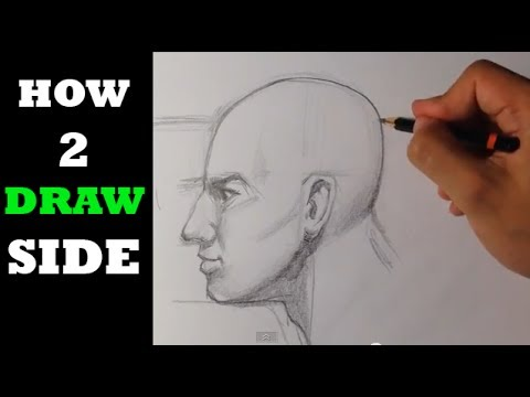How to Draw Side View of Head - Easy Drawings - YouTube