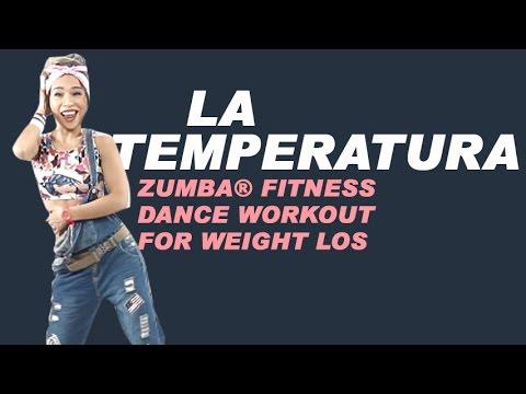 La Temperatura | Maluma ft. Eli Palacios | Zumba® Fitness Dance Workout For Weight loss |Michelle Vo