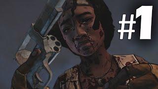 The Walking Dead Michonne Episode 1 - In Too Deep Part 1 Gameplay Walkthrough