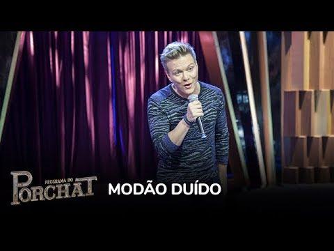 Michel Teló canta sucessos no palco do Porchat