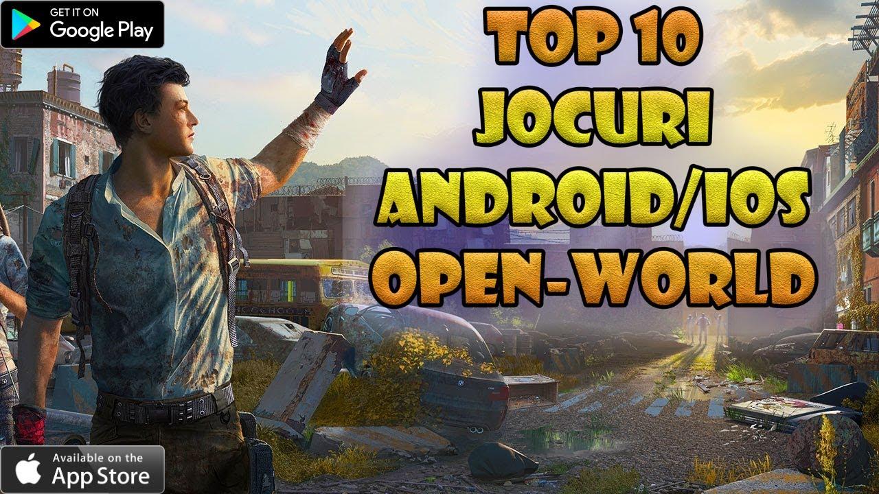 TOP 10 Jocuri ANDROID & IOS Open-World 2020 | Jocuri pe Telefon
