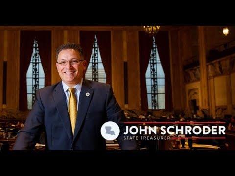 John Schroder Sr. for Treasurer on Louisiana Bond Rating