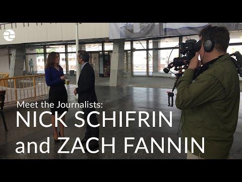 Meet the Journalists: Nick Schifrin and Zach Fannin