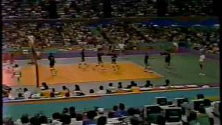 1984 Olympic Volleyball - USA vs. Brazil