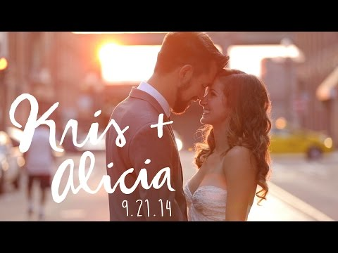 Kris+Alicia Wedding::Wedding Highlight Film::Axis Pioneer Square:: Seattle Wedding Videography