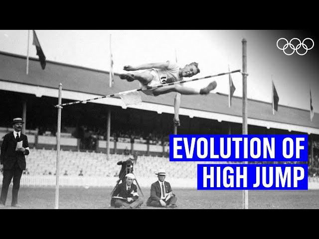 Men's High jump through the years!