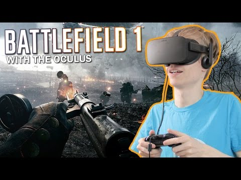 BEAUTIFUL VR SHOOTING GAME | Battlefield 1 (Oculus Rift CV1 Gameplay)