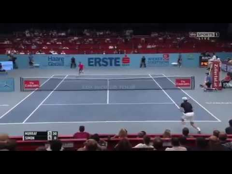 Andy Murray vs Gilles Simon - Vienna Open 2016 - Highlights