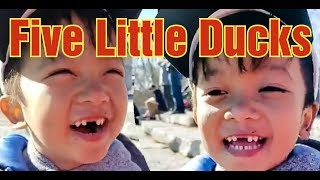 FIVE LITTLE DUCKS | FUNNY MOMENTS | VIDEOS FOR KIDS