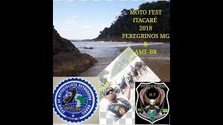 Itacaré Moto Viagem 2018 Peregrinos MG e Valfran AME BR