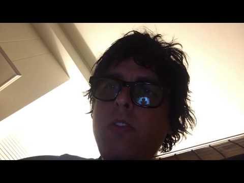 Billie Joe Armstrong - Instagram Live Stream 7-24-17