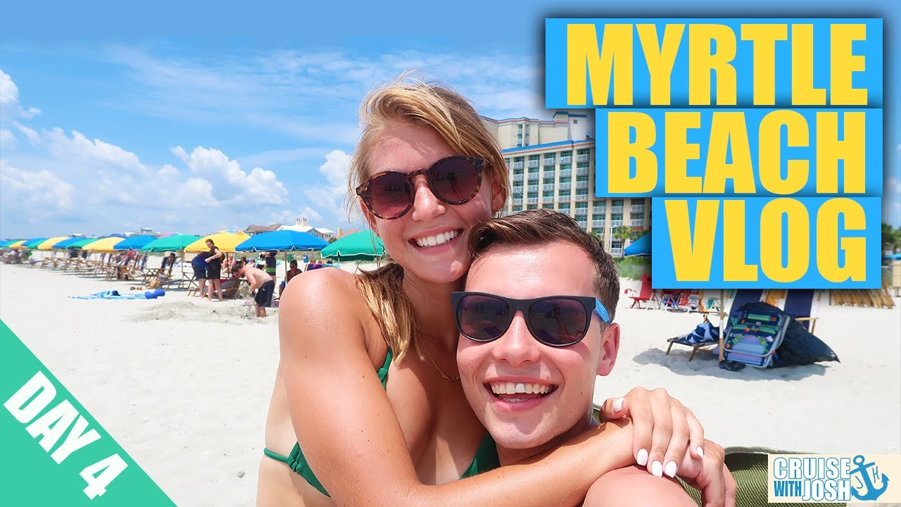 Myrtle Beach Vacation Vlog 2020 Day 4! | Beach Day, Boardwalk, Comedy Club & More!
