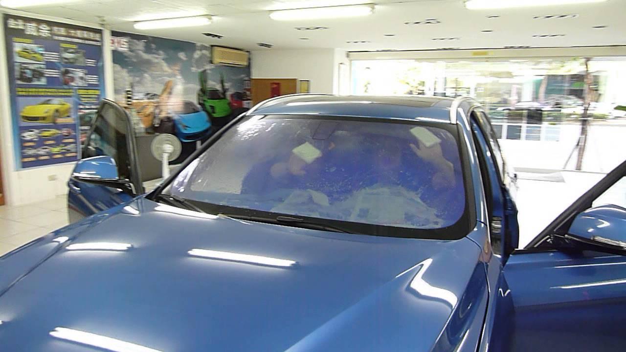 超炫高隔熱99%霓彩紫光膜3M桑瑪克FSK冰鑽V-KOOL隔熱紙一片500元起預約送洗車 - YouTube