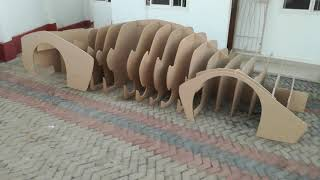 Fender pieces added, How to make an African super sports car in Dar es Salaam, Tanzania 06Oct2018