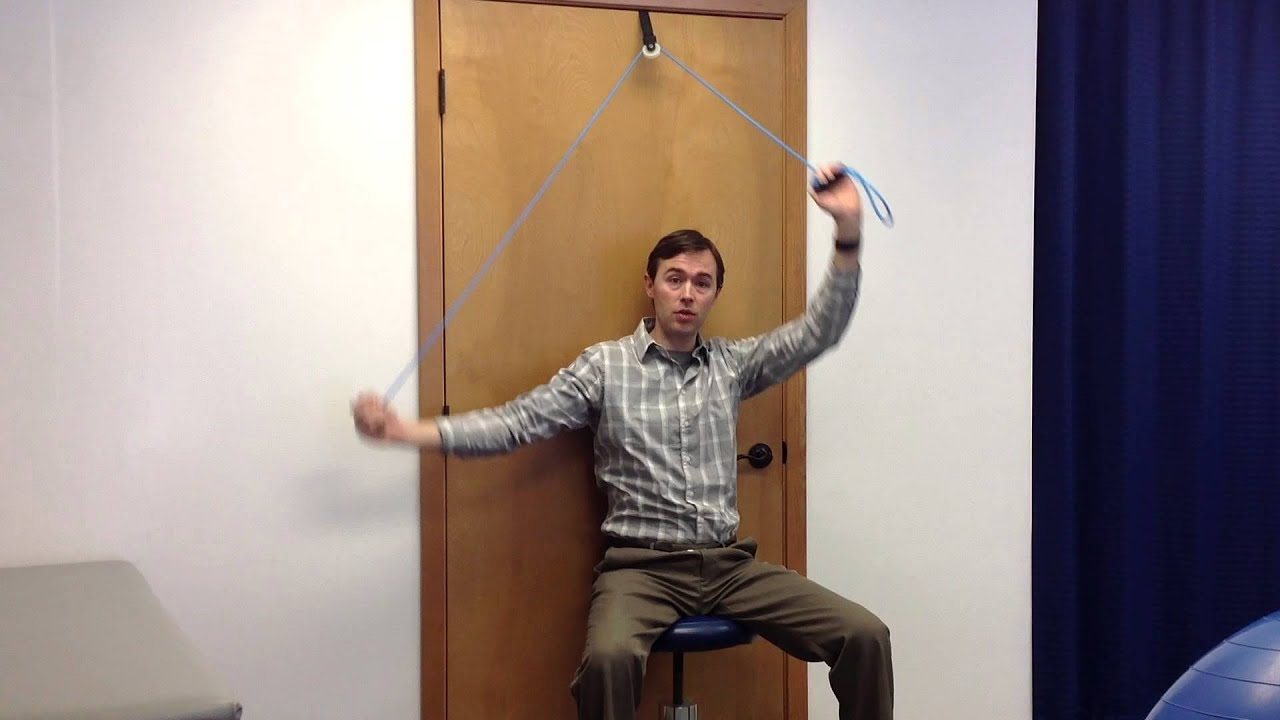 Shoulder Stretches Pulleys Physical Therapy Spokane