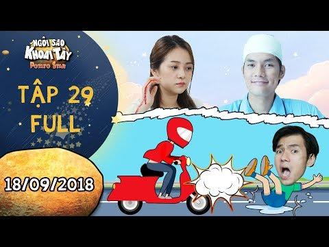 Ngôi sao khoai tây  tập 29 full: Song Nghi hốt hoảng khi Khánh Toàn bị tai nạn vì liều thân cứu mình