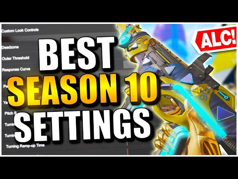 BEST CONSOLE SETTINGS TO USE IN APEX LEGENDS SEASON 10!