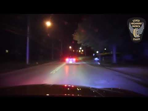 Ashtabula Chase Dash Camera Footage