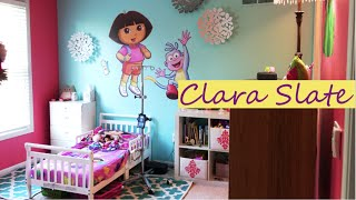 Thrifty Toddler Room Tours Collab - Reading Cubby, Dollar Tree Decor, Free Books!
