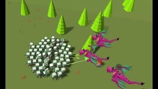 Blocky Fantasy Battle Simulator Game Level 21-30 Walkthrough