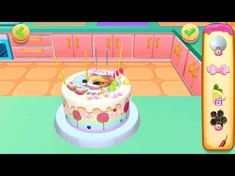 เกมส์ทำขนมเค้ก   3D Cake   Cake Cooking Shop Game