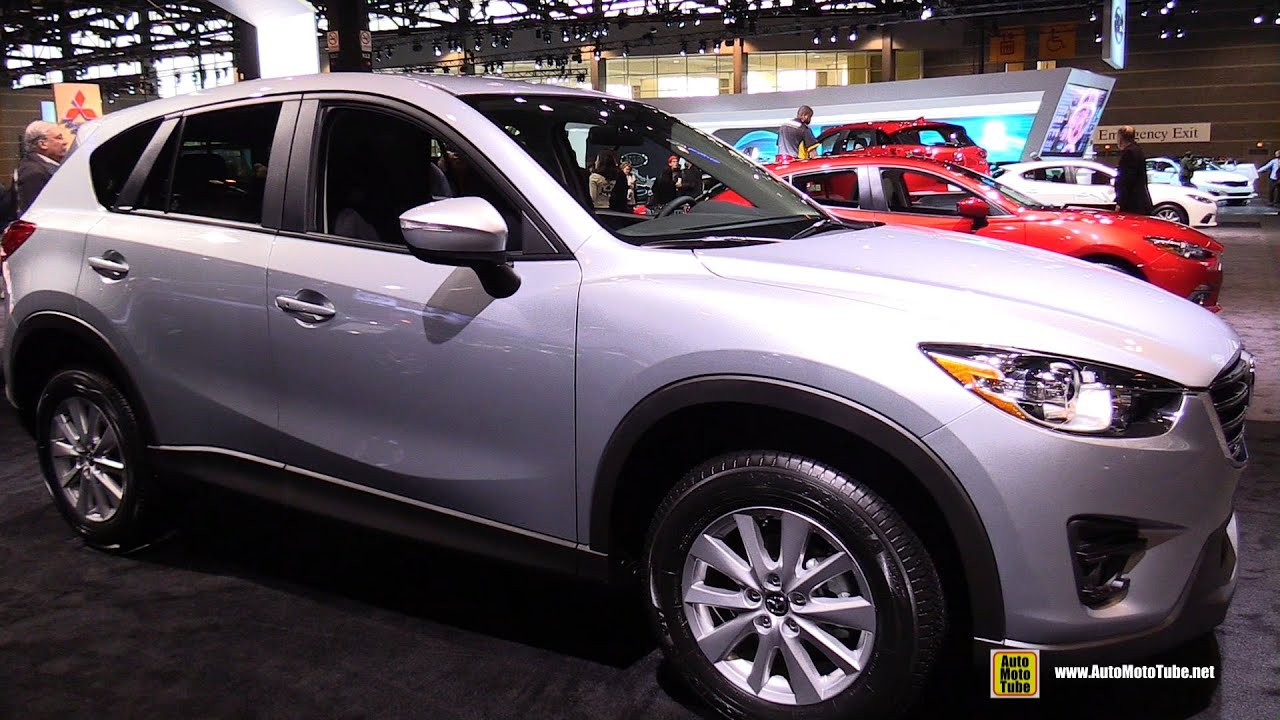 2016 mazda cx 5 touring awd exterior and interior walkaround 2015 chicago auto show youtube. Black Bedroom Furniture Sets. Home Design Ideas