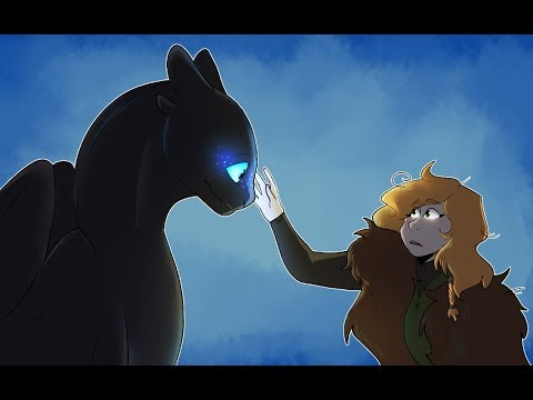 When Toothless' Baby Meets Hiccup's Child: A How to Train Your Dragon Story