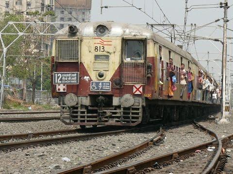 MSUiI-Mit dem Local Train durch (Mumbai) Bombay