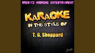 Last Cheater's Waltz (In the Style of T. G. Sheppard) (Karaoke Version)