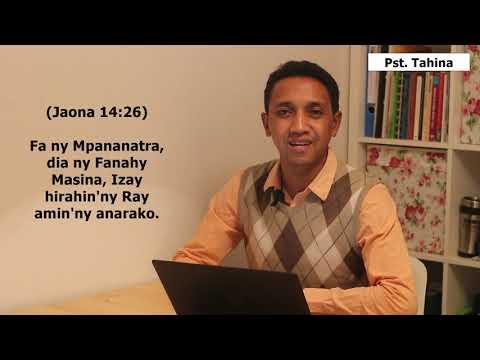 Marka 16 : 15- Andriamanitra telo izay iray ny Andriamanitry ny Baiboly