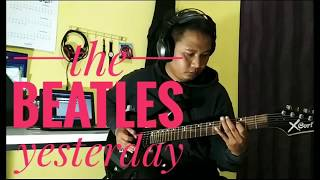 The Beatles - yesterday (cover guitar instrumental)