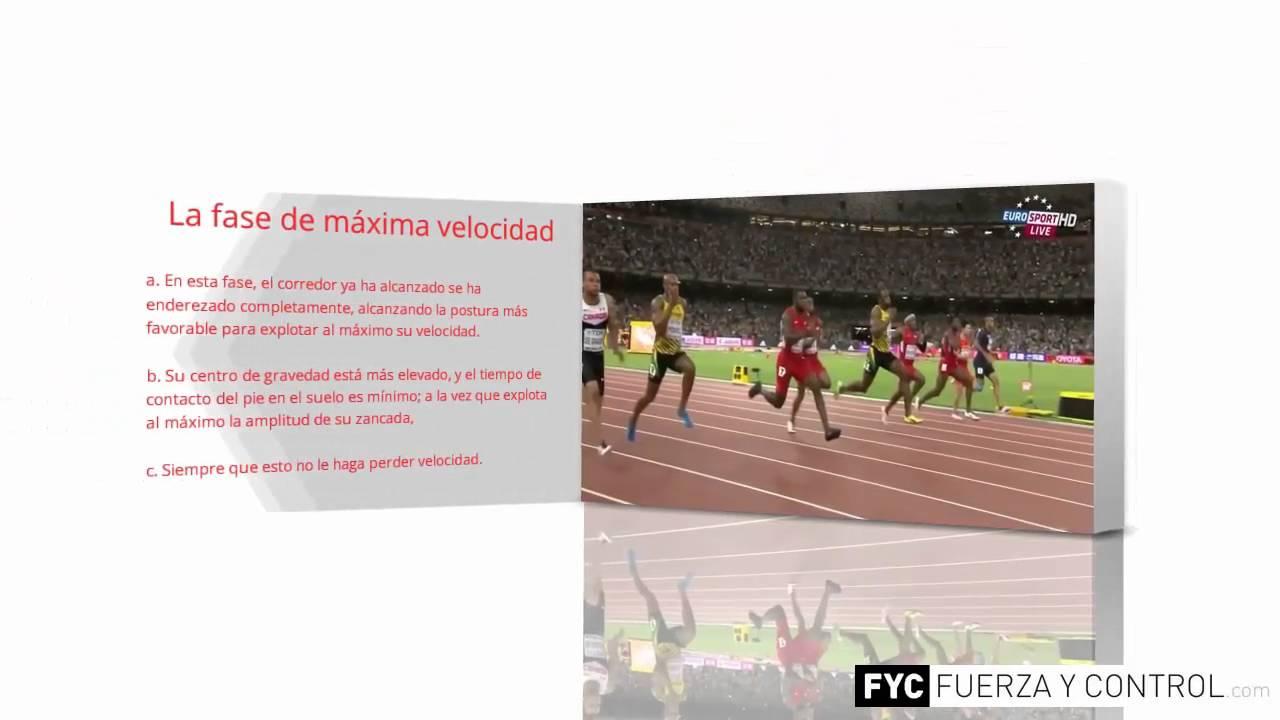 Tecnica carrera de 100 metros