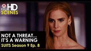 Suits Season 9 Ep. 8: Not a threat, it's a warning Full HD