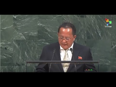 UN Speeches:North Korea's Minister for Foreign Affairs Mr. R