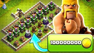 WE NEED 540 MILLION GOLD!......Clash Of Clans