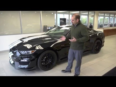2016 Ford Mustang GT350 with Exhaust Sound in 4K