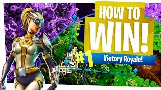 How to Win in Fortnite Solos Easy - Mastering Rotations - Fortnite Battle Royale Tips