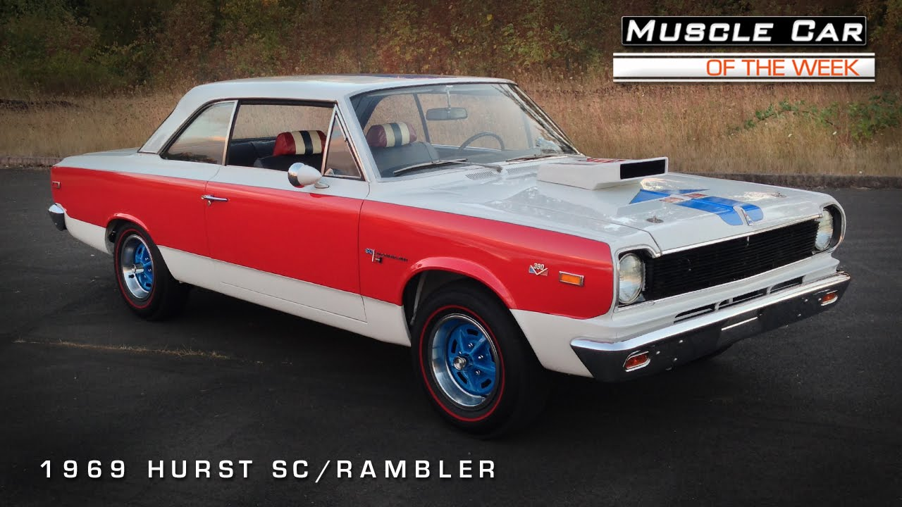 Muscle Car Of The Week Video Hurst Sc Rambler Youtube