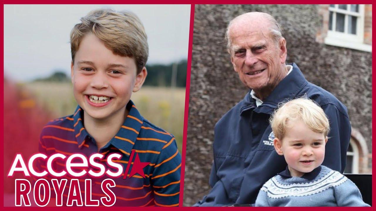How Prince George's Birthday Photo Honors Prince Philip