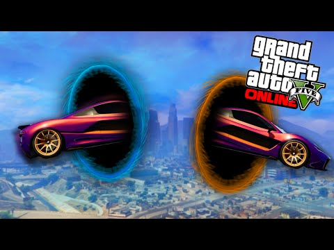 TELEPORTEREN IN EEN RACE! (GTA 5 Online Funny Jobs #86)