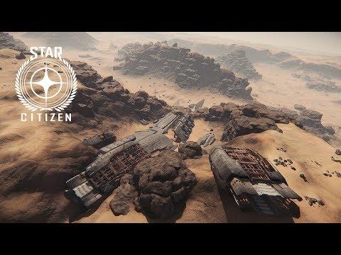 [FR] Star Citizen 3.1.3 - Comment trouver l'épave du Javelin sur Daymar !