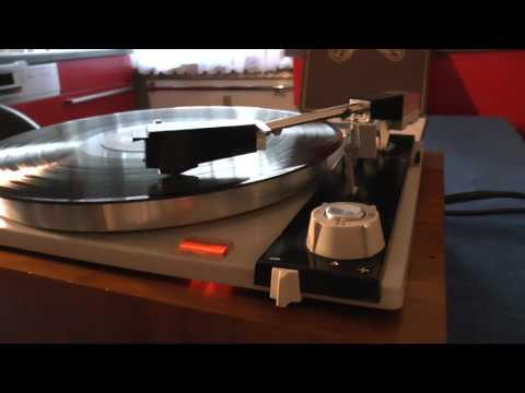 1964 PE33 Studio broadcast turntable Philips GP412/2 plays Carpenters ticket to ride HQ Vinyl