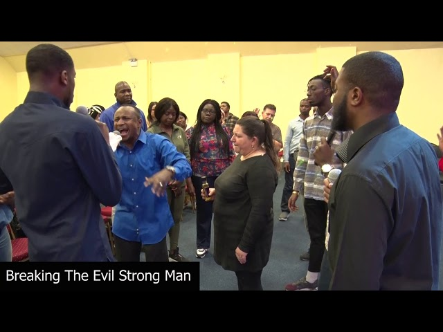 Break The Evil Strong Man #JerichoHourPrayerMeeting
